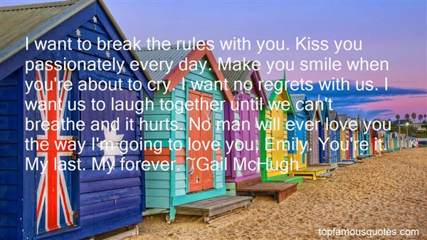 Quotes About No Regrets In Love