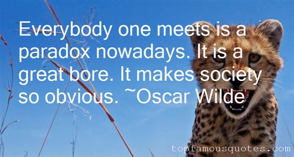 Quotes About Nowadays
