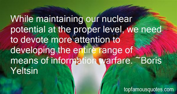 Quotes About Nuclear Warfare