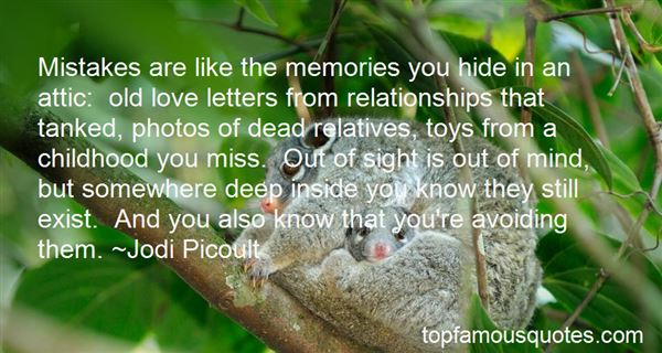 Quotes About Old Love Letters