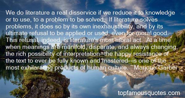 Quotes About Oral Interpretation
