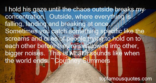 Quotes About Outside Noise