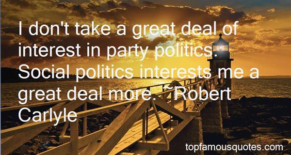 Quotes About Party Politics