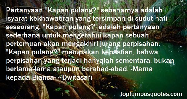 Quotes About Perpisahan