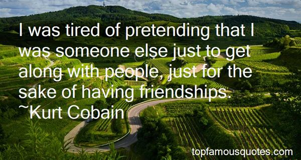 Quotes About Pretend Friendships