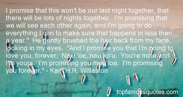Quotes About Promising To Love