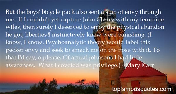 Quotes About Psychoanalytic Theory