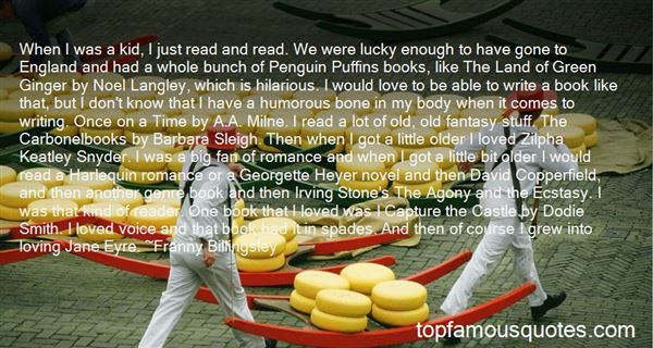 Quotes About Puffins