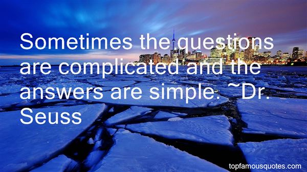 Quotes About Questions And Answers