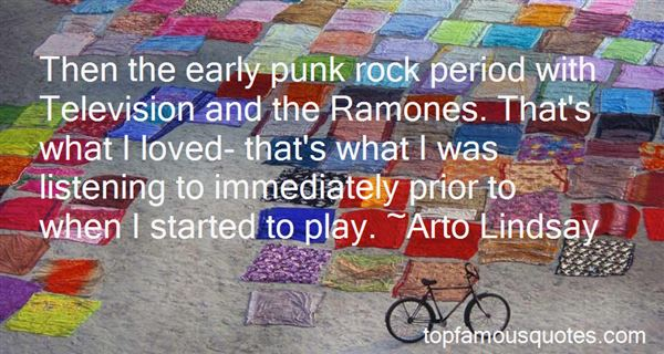 Quotes About Ramones