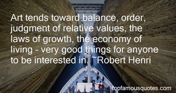 Quotes About Relative Value