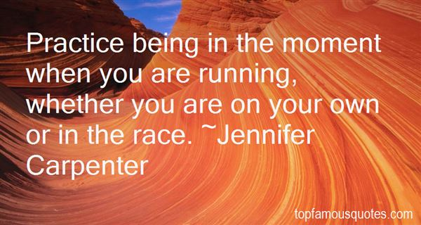 Quotes About Running Your Own Race