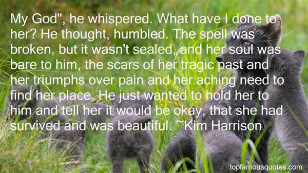 Quotes About Scars And Pain