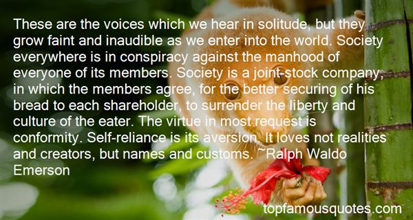 Quotes About Self Reliance