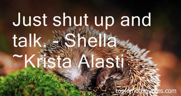 Quotes About Shella