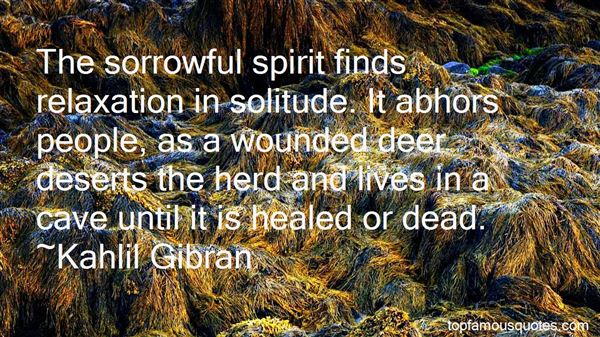 Quotes About Sorrowful