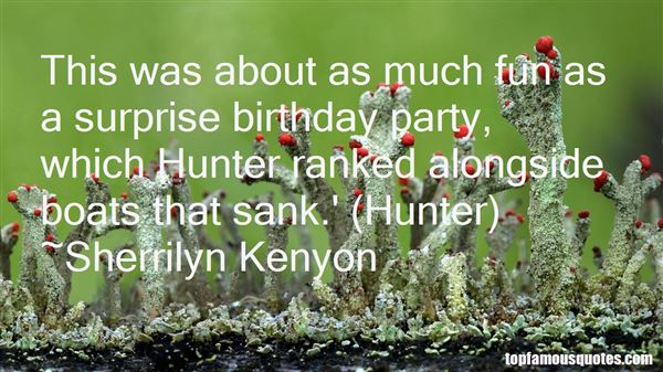 Quotes About Surprise Birthday