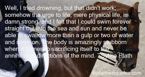 Quotes About Swim