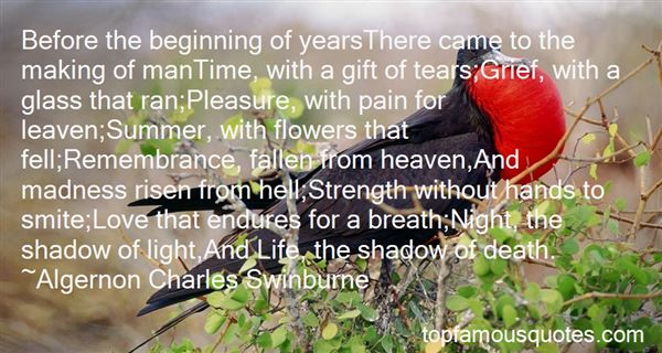 Quotes About The Beginning And End Of Life