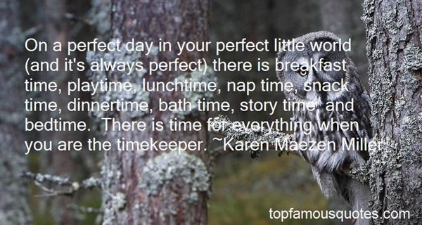 Quotes About Timekeeper