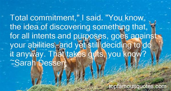 Quotes About Total Commitment