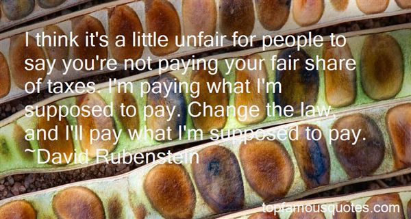 Quotes About Unfair Pay
