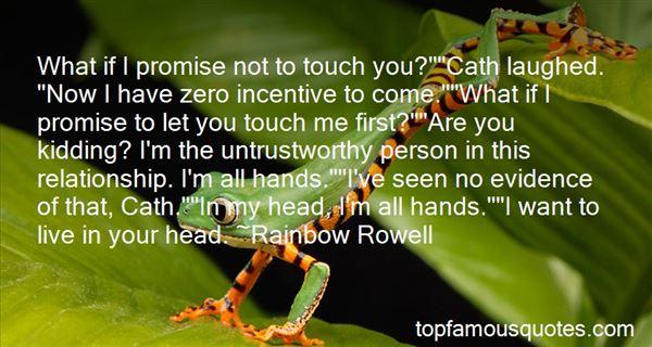 Quotes About Untrustworthy