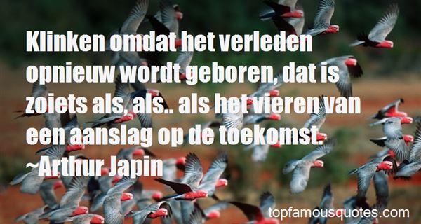 Quotes About Verleden
