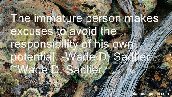 Quotes About Wade