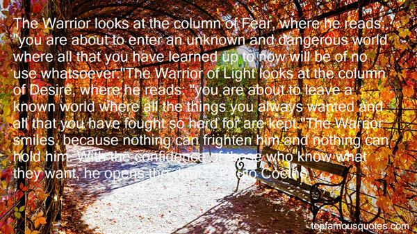 Quotes About Warrior Of Light
