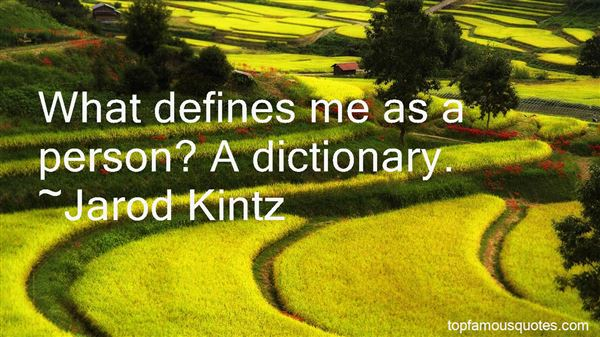 Quotes About What Defines A Person