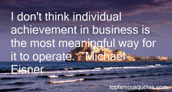 Quotes About Achievement In Business