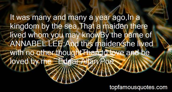 Quotes About Annabel Lee