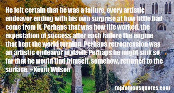 Quotes About Artistic Failure