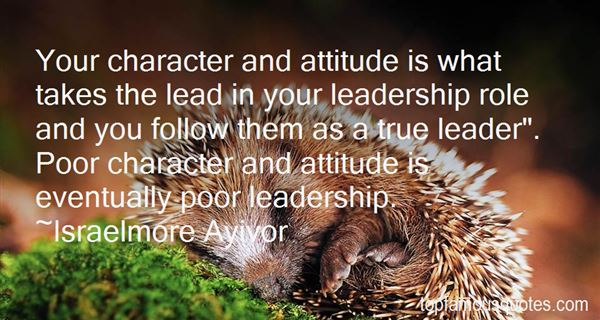 Quotes About Attitude And Character