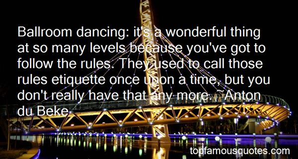 Quotes About Ballroom Dancing