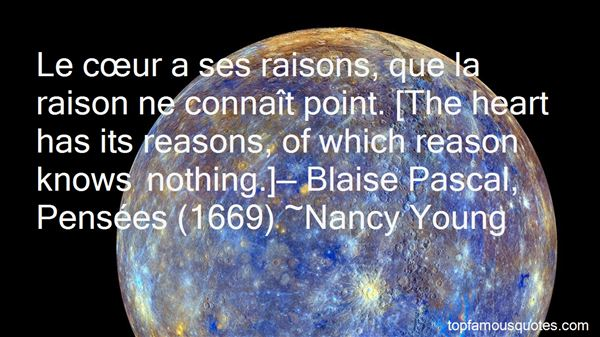 Quotes About Blaise Pascal