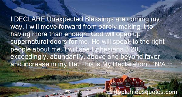 Quotes About Blessings In My Life