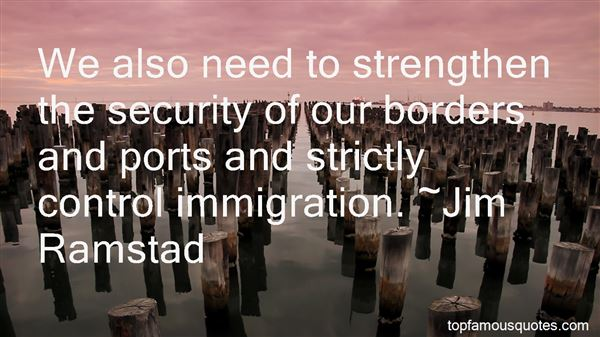 Quotes About Border Control