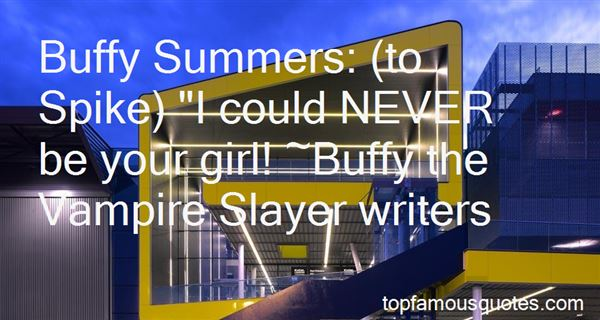 Quotes About Buffy Summers