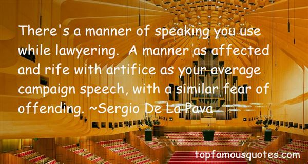 Quotes About Campaign Speech