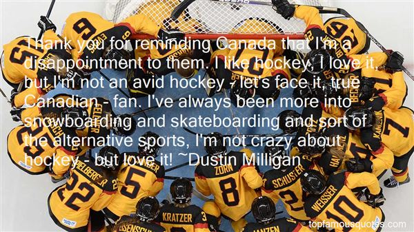 Quotes About Canadian Hockey