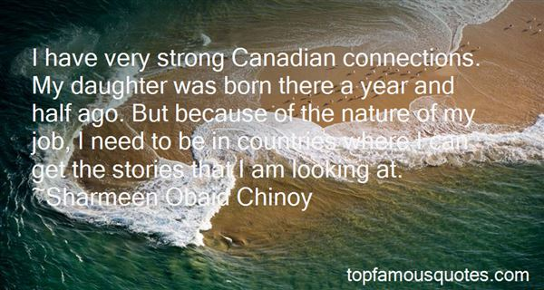 Quotes About Canadian Nature