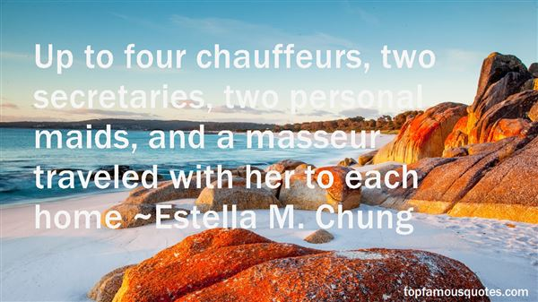 Quotes About Chauffeurs