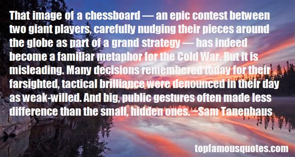 Quotes About Chess And War