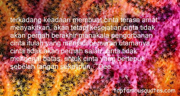 Quotes About Cinta Bertepuk Sebelah Tangan
