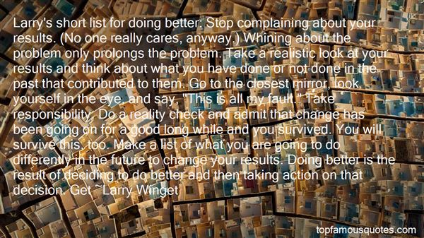 Quotes About Complaining And Change