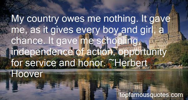 Quotes About Country Independence