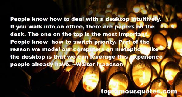 Quotes About Desktop Computers