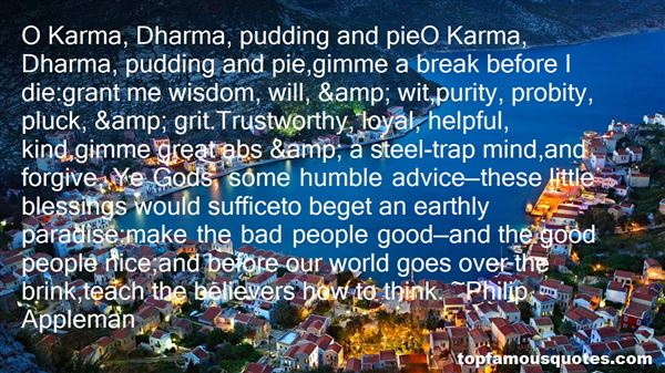 Quotes About Dharma And Karma
